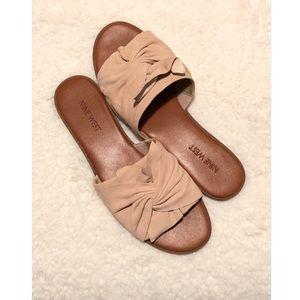 Nine West Blush Pink Sandals